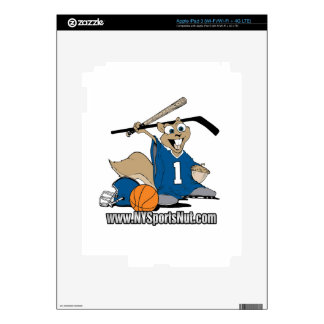 New York Sports Nut Skins For iPad 3