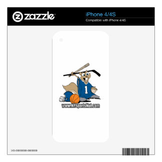 New York Sports Nut Skins For The iPhone 4S