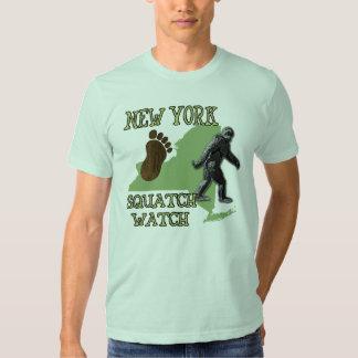 New York Squatch Watch Tee Shirt