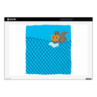New York Squirrel Decal For Laptop