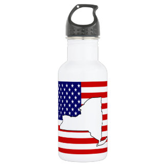 New York Stainless Steel Water Bottle