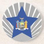 New+York Star Beverage Coaster