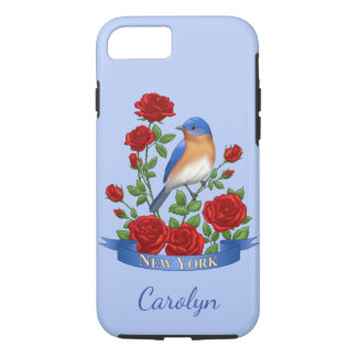 New York State Bird and Flower iPhone 7 Case