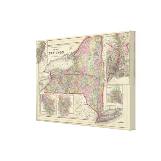 New York State Canvas Print