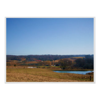 NEW YORK STATE COUNTRY SIDE poster