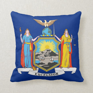 New York State Flag American MoJo Pillow