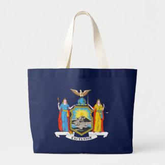 New York State Flag blue bag