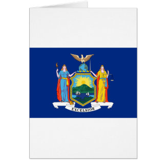 New York State Flag Card