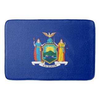 New York State Flag Design Bathroom Mat
