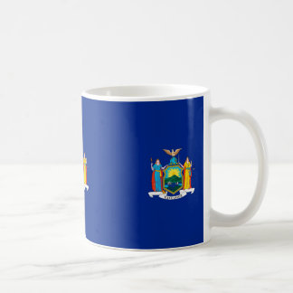 New York State Flag Design Coffee Mug