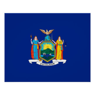 New York State Flag Design Decor