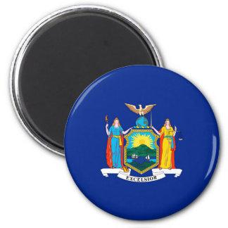 New York State Flag Design Magnet