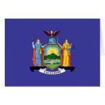 New York State Flag Greeting Cards