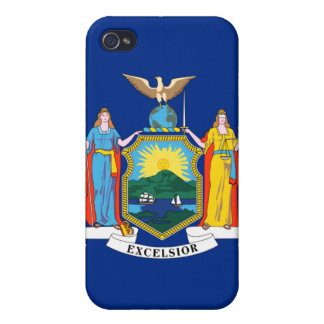 New York State Flag iPhone 4 Case