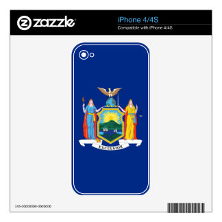 New York State Flag iPhone 4S Decal