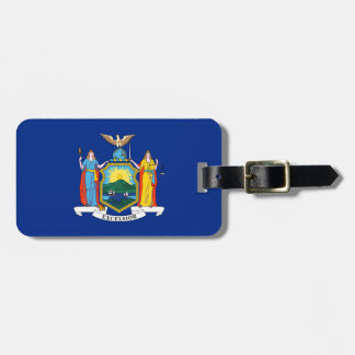 New York State Flag Luggage Tag