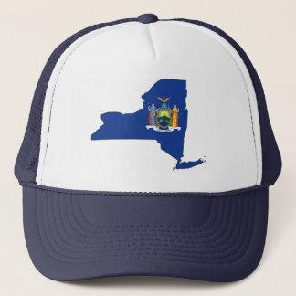 New York State Flag Map Trucker Hat