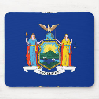 NEW YORK STATE FLAG MOUSE PAD
