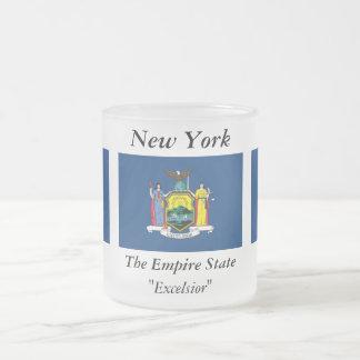 New York State Flag Coffee Mugs
