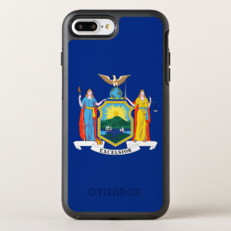 New York State Flag OtterBox Symmetry iPhone 7 Plus Case