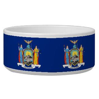 New York State Flag Pet Bowl