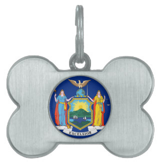 New York State Flag Pet ID Tags