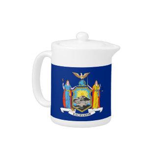 New York State Flag Teapot