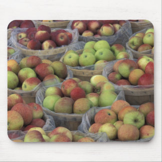 New York State Macintosh apples in baskets Mouse Pad