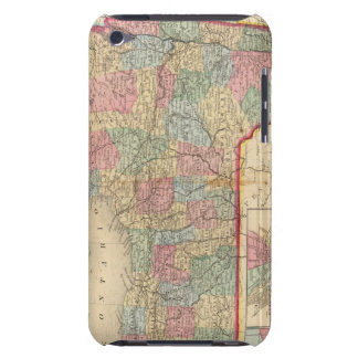 New York State Map by Mitchell Case-Mate iPod Touch Case