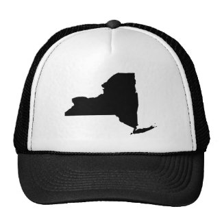 New York State Outline Trucker Hat