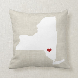 New York State Pillow Personalized