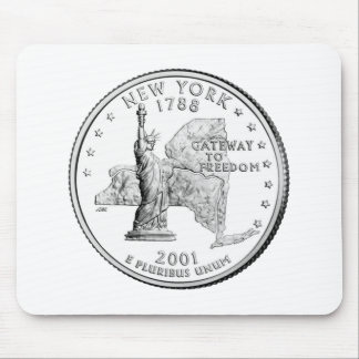 New York State Quarter Mouse Pad