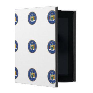 New York State Seal iPad Folio Cases