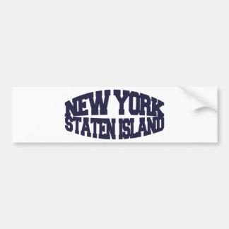 New York staten island Bumper Sticker