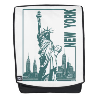 New York-Statue of Liberty Backpack