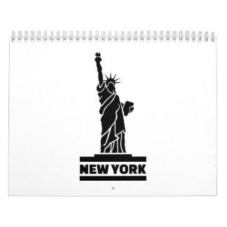 New York Statue of Liberty Calendar