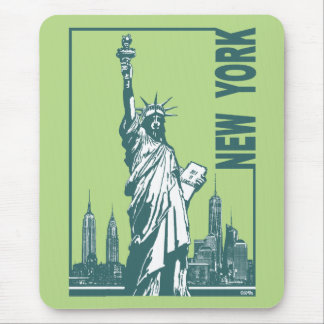 New York-Statue of Liberty Mouse Pad