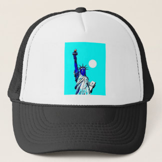 New York Statue of Liberty Pop Art Trucker Hat