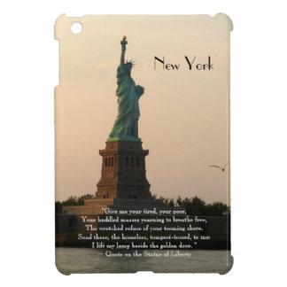 New York/Statue of Liberty Quote iPad Mini Cover