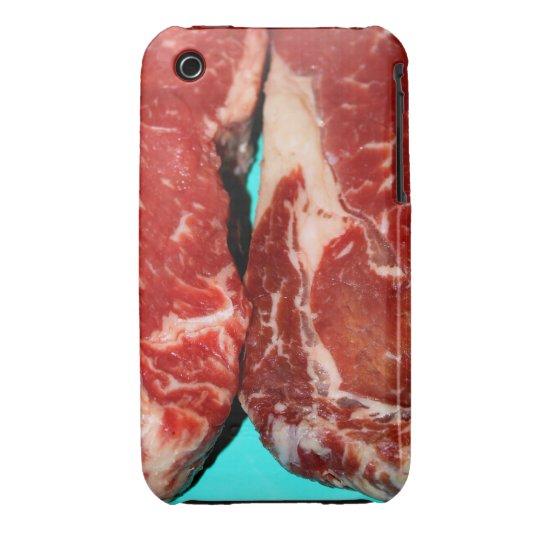 New York Steak Raw iPhone 3 Cover