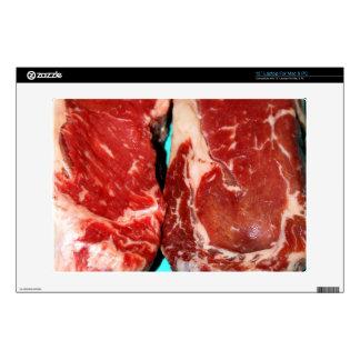 """New York Steak Raw Skin For 13"""" Laptop"""