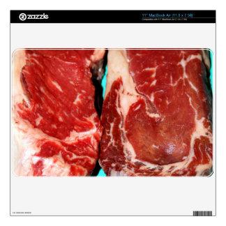 New York Steak Raw Skin For The MacBook