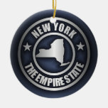 """New York Steel"" Decorative Ornaments (Blue)"