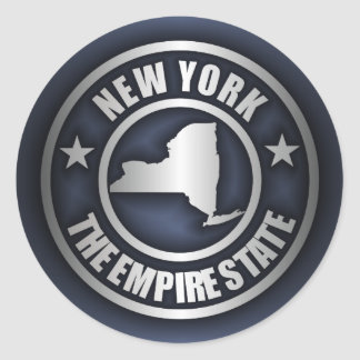 """New York Steel"" Stickers (Blue)"