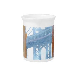 New York stickball Beverage Pitcher