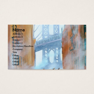 New York stickball Business Card