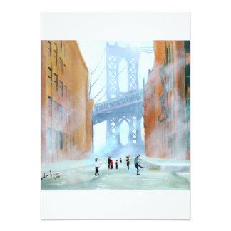 New York stickball Card