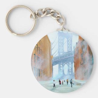 New York stickball Keychain