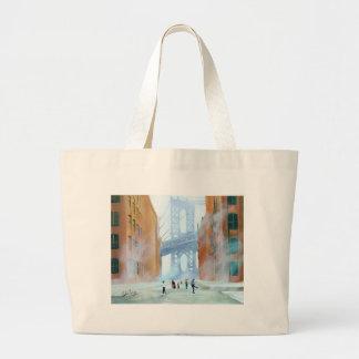 New York stickball Large Tote Bag