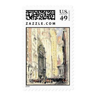 New York Stock Exchange 1904 Postage Stamp